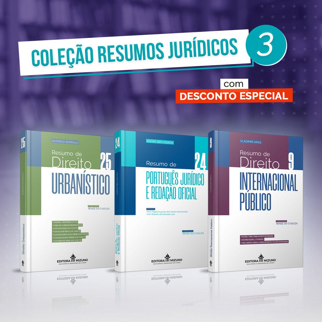 Coleção Resumos Jurídicos 3