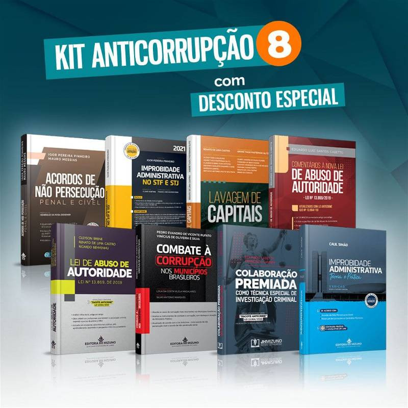 Kit Anticorrupção 8