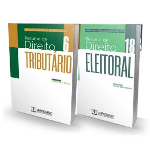 Resumo De Direito Tributário Vol. 6 + Resumo De Direito Eleitoral Vol. 18