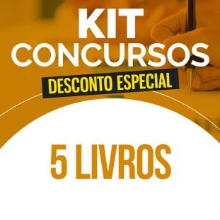 Saldão - Kit Concursos - 5 Livros